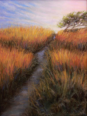 Painting - Beach Trail by Susan Jenkins