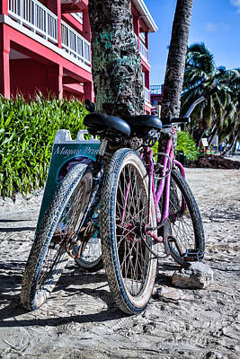 Photograph - Beach Transportation by Lawrence Burry