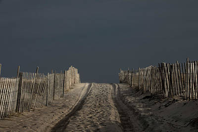 Photograph - Beach Treads by Steve Gravano