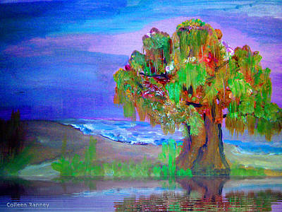 Painting - Beach Tree by Colleen Ranney