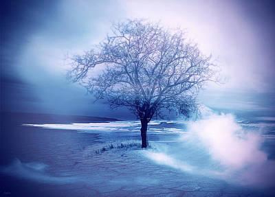 Fantasy Tree Mixed Media - Beach Tree by KaFra Art