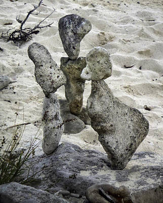 Sculpture - Beach Trio by Ed Meredith