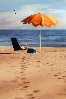 Digital Art - Beach Trip by Lori Deiter