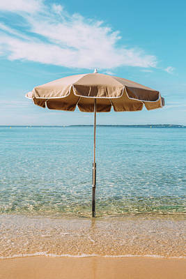 Photograph - Beach Umbrella by Alexandre Rotenberg