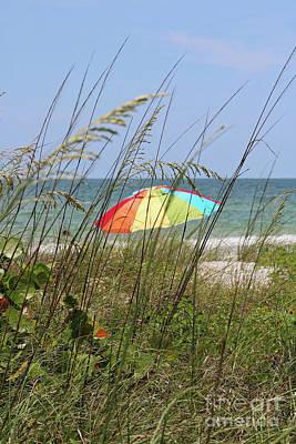 Photograph - Beach Umbrella by Carol Groenen