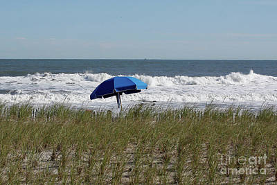 Photograph - Beach Umbrella by Denise Pohl