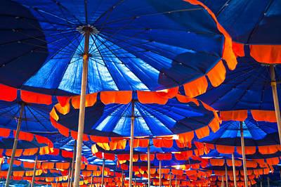 Cha-am Photograph - Beach Umbrellas by Adam Howard
