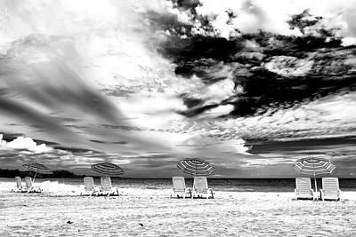 Photograph - Beach Umbrellas At Red Frog Beach Panama by John Rizzuto