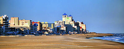 Photograph - Beach Vacancy In Ocean City Maryland by Bill Swartwout