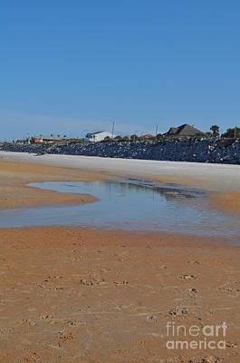 Beach View  Art Print