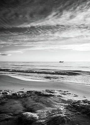 Photograph - Beach View. by Gary Gillette