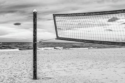 Photograph - Beach Volleyball Orange Beach Al by John McGraw