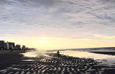 Photograph - Beach Walk 5 by Judith Morris