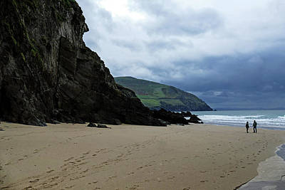 Photograph - Beach Walk On The Dingle Peninsula by Bill Jordan