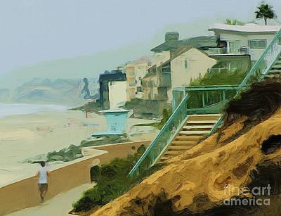 Photograph - Beach Walk by Tom Griffithe