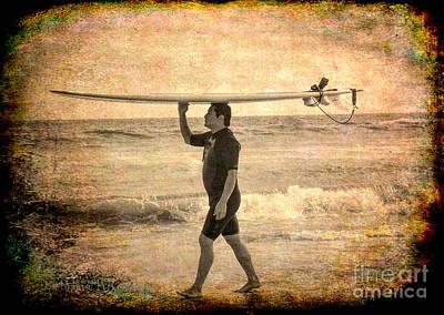 Photograph - Beach - Wave Rider by Kip Krause