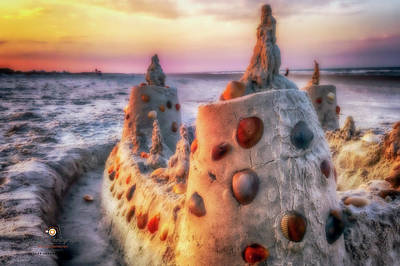 Photograph - Beach Whimsy by Joedes Photography