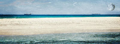 Photograph - Beach With White Sand... by Werner Lehmann