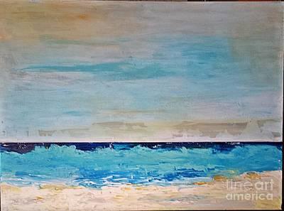 Painting - Beach1 by Diana Bursztein