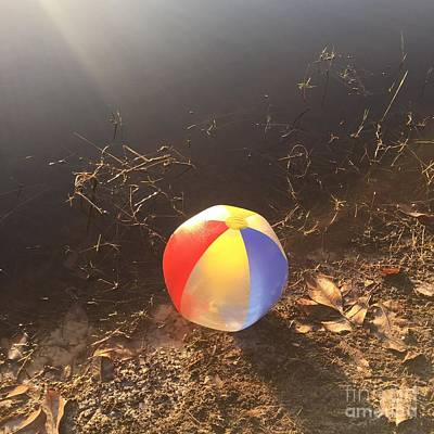 Photograph - Beachball by Robin Maria Pedrero