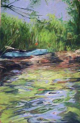 Painting - Beached At Lake George by Michelle Winnie