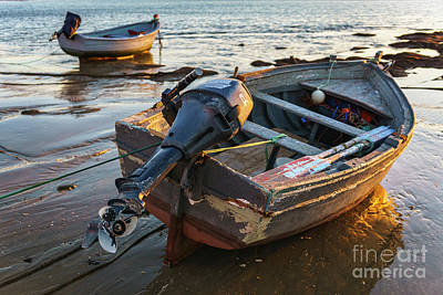 Photograph - Beached Boats At La Caleta Cadiz Spain by Pablo Avanzini