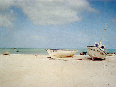 Photograph - Beached Boats by Charles McKelroy