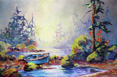 Painting - Beached by Bonny Roberts