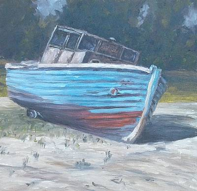 Painting - Beached by Candi Hogan