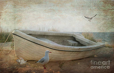 Digital Art - Beached by Chris Armytage