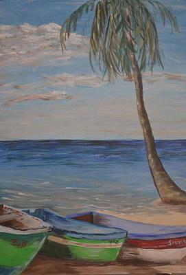 Painting - Beached by Debbie Baker