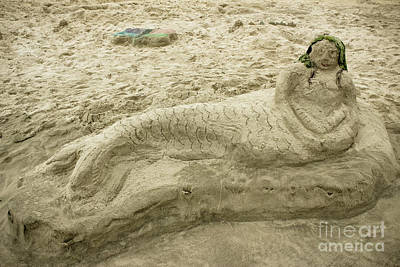 Photograph - Beached Mermaid by Colleen Kammerer