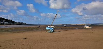 Photograph - Beached by Richard Brookes