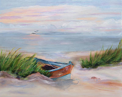Painting - Beached by Shirley Lawing