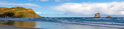 Photograph - Beachfront Panorama by Nicholas Blackwell