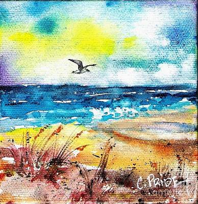 Painting - Beachscape #2 by Cynthia Pride