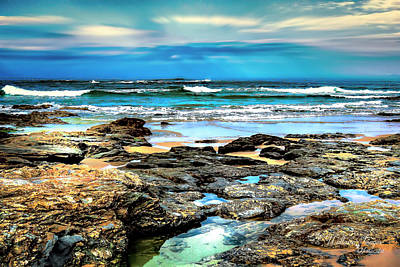Photograph - Beachscape At Hungry Head  by Wallaroo Images