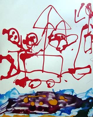 Beachside Art Print by Nanak Chadha