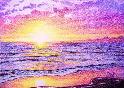 Beachside Print by Nils Beasley
