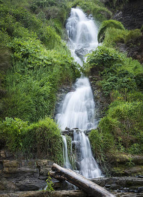 Photograph - Beachside Waterfall by Robert Potts