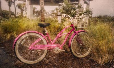 Photograph - Beachtime Bike by Debra and Dave Vanderlaan