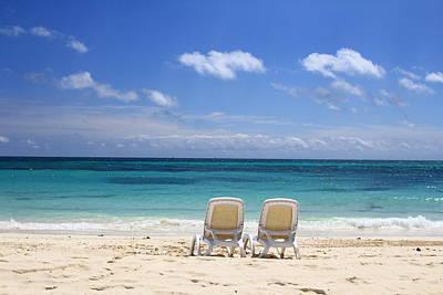 Beach Chair Photograph - Beachtime by Nicole Huebscher