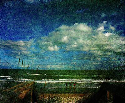 Beachy Day Today Art Print by Susanne Van Hulst