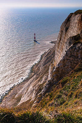 Photograph - Beachy Head Lighthouse by Stuart Gennery