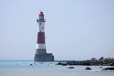 Photograph - Beachy Head Lightthouse by Julia Gavin
