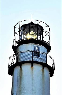 Photograph - Beacon At Fenwick Island Lighthouse by Kim Bemis
