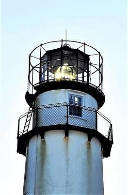 Photograph - Beacon At Fenwick Island Lighthouse by Kim Bemis