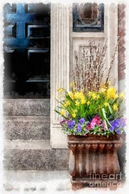 Photograph - Beacon Hill Flowers by Edward Fielding