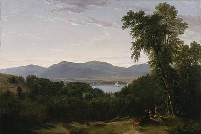 Beacon Hill Painting - Beacon Hills From Newburgh by Durand