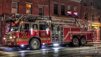 Photograph - Beacon Ladder 33-45 by Scott Harrison